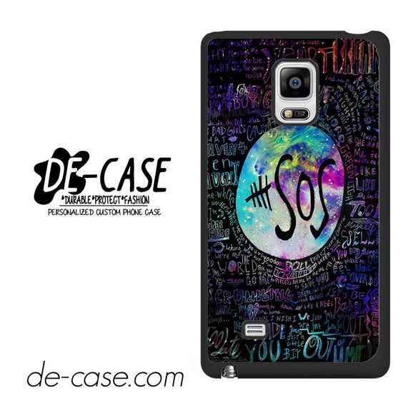 5sos Liryc Quote In Galaxy DEAL-146 Samsung Phonecase Cover For Samsung Galaxy Note Edge