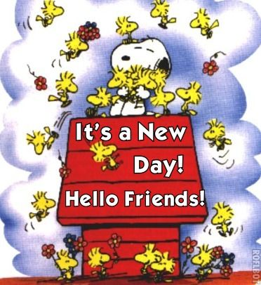 Image result for hello friends snoopy