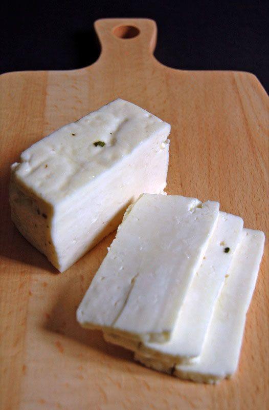 Homemade Halloumi Cheese