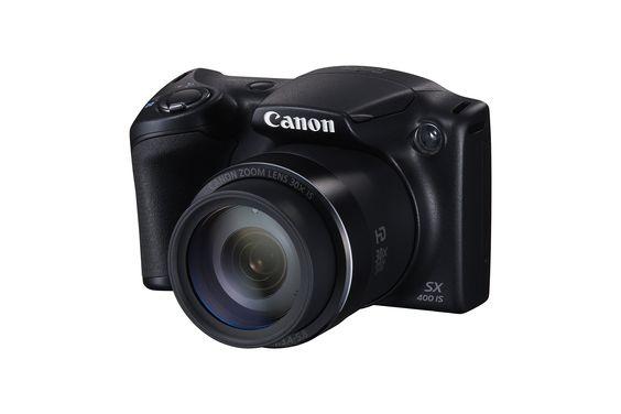 """Canon PowerShot SX400 IS Appareil photo numérique bridge 16,6 Mpix Écran LCD 3"""" Zoom optique 30X Noir"""