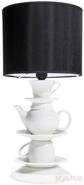 Lampe de Table Tea Time by KARE. Une sélection de la rédaction de www.source-a-id.com