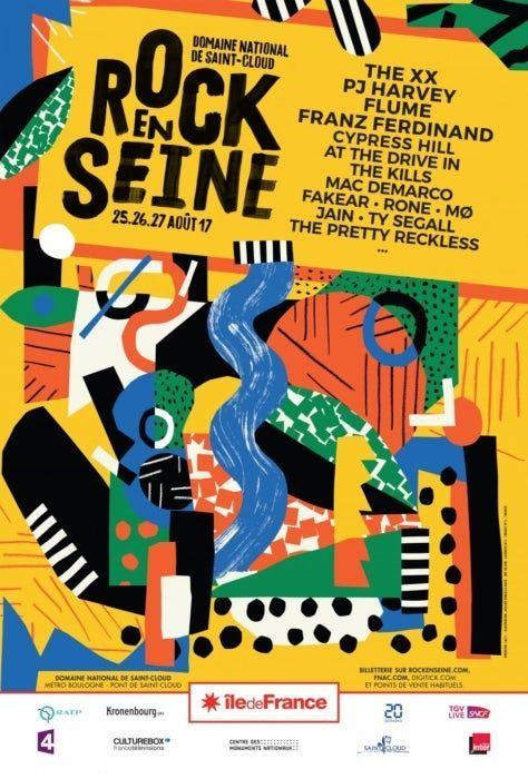 Cest Lt Il Faut En Profiter Les Festivals En T Cest Un Peu Comme Faire Un Voyage Dans Un Fe Concert Poster Design Music Festival Poster Graphic Design Jobs