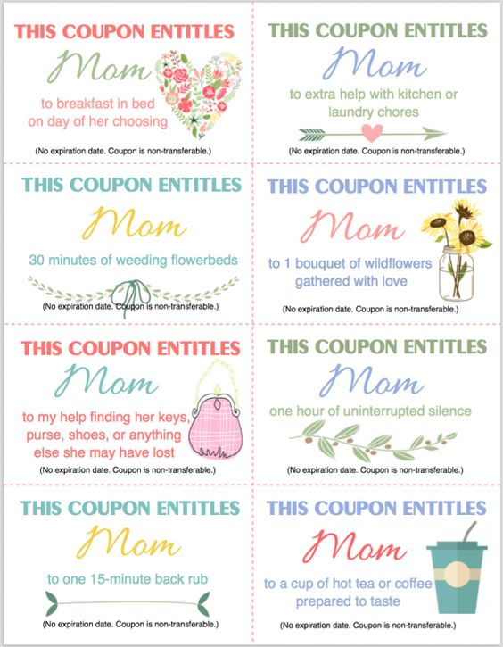 free printable coupon booklet for mother 39 s day from encouragement for. Black Bedroom Furniture Sets. Home Design Ideas