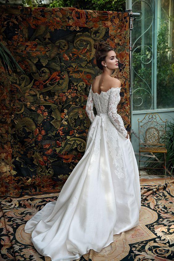 Lihi Hod wedding dress | Wedding Dresses with pockets | itakeyou.co.uk
