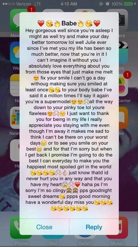 long paragraphs for him copy and paste to make him smile
