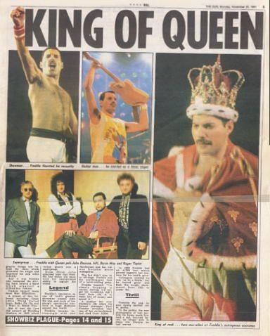 Freddie Mercury Funeral | Rock star Freddie Mercury is dead - just two days after confirming he HAD AIDS...