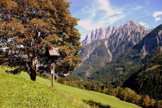 Austria - #Osttirol - Panoramablick von der Pustertaler-Höhenstraße
