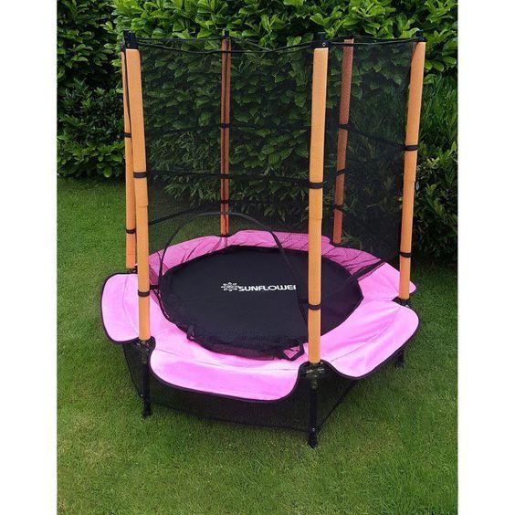 Trampolin 140 Cm Komplett Mit Sicherheitsnetz Pink Produktinformationen Trampolin 140 Cm Komplett Mit Sicherheitsnetz Pink T Garten Design Wohnideen Design