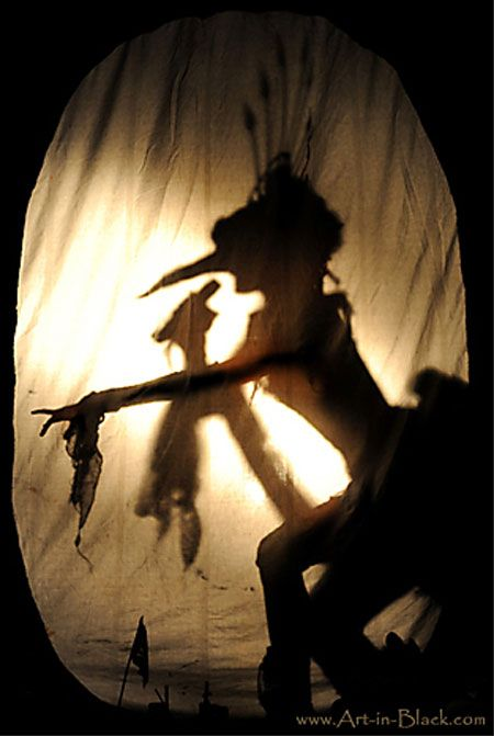 Shadow theatre!