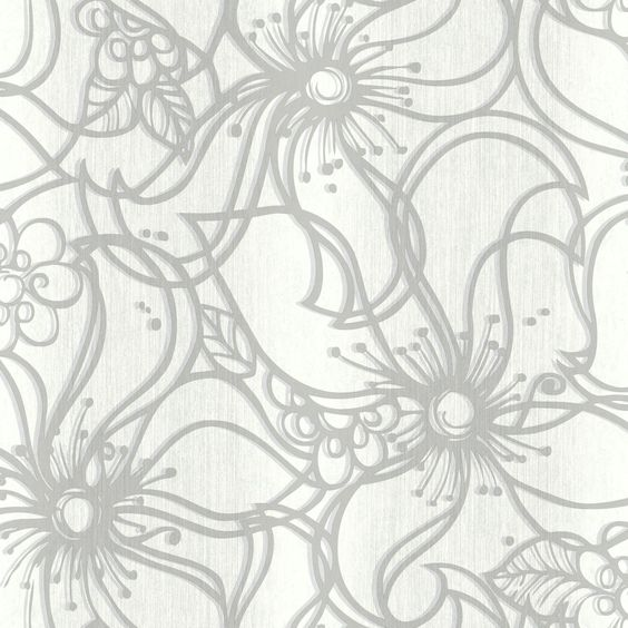 """Paper Muse 33' x 20.5"""" Whimsical Bloom Roll Wallpaper"""