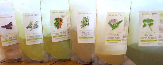 Plantes-Ayurvédiques cure de pousse pour les cheveux