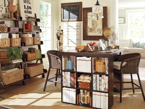 Love for craft room/mom office! american classic home - pottery barn