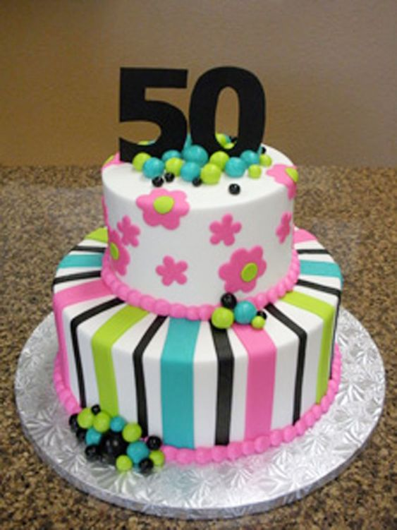 50th-birthday-cakes-pictures-for-women Projects to Try ...