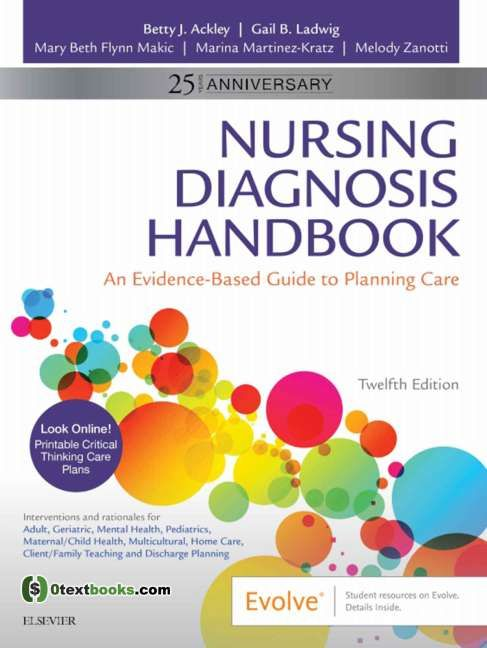 Nursing Diagnosis Handbook An Evidence Based Guide To Planning Care 12th Edition Pdf Textbook Nursing Diagnosis Ackley Nursing Care Plan
