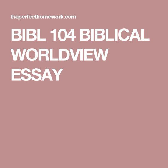 Biblical Worldview Glossary