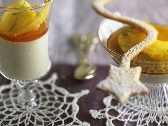 Kokosmousse mit Ananas-Ingwer-Soße ist ein Rezept mit frischen Zutaten aus der Kategorie Plätzchen. Probieren Sie dieses und weitere Rezepte von EAT SMARTER!