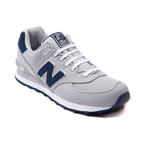 new balance leather 574 Grey