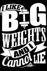 I Like Big Weights And I Cannot Lie - Gym Bodybuilding