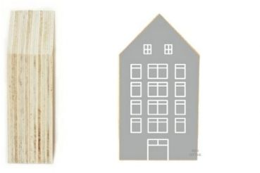 Deko Haus - grau