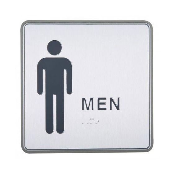 Bathroom Signs Staples restroom signs, for men and signs on pinterest