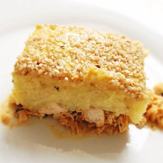 Aprenda a preparar a receita de Escondidinho de batata doce com frango