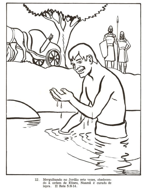 naaman the leper coloring page - 782 1038 naaman pinterest