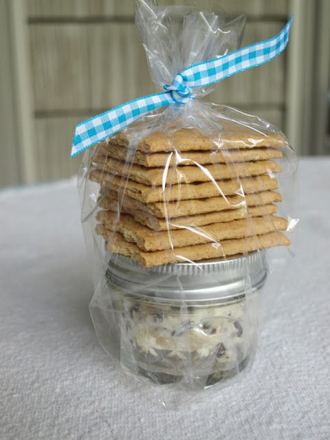 Chocolate Chip Cheese Ball in a jar makes a great gift!