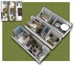 casas planos 3 dormitorios - Buscar con Google