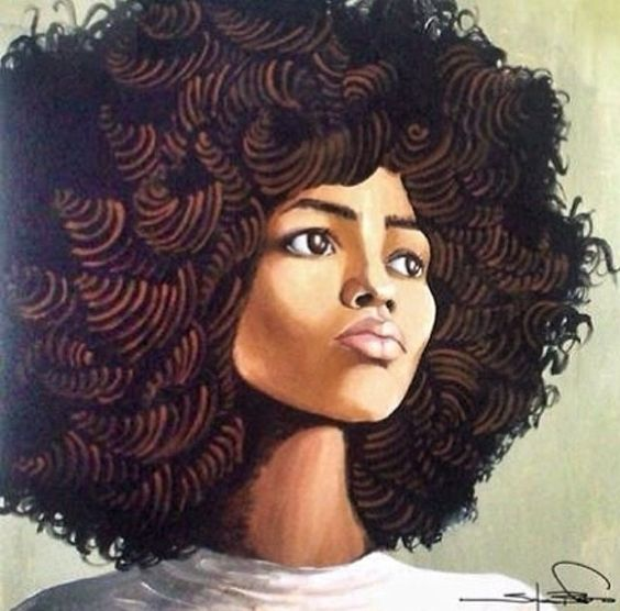 Naturally curly hair. Fro. Afro. Love this