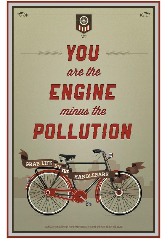 """""""Você é o motor menos poluição"""""""