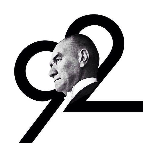 """""""Cumhuriyet Bayramı'mız kutlu olsun. ATA'm sana minnettarız."""""""
