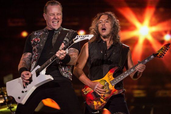 Metallica's James Hetfield And Kirk Hammett | GRAMMY.com