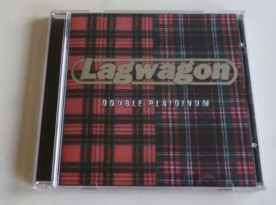 CD album /Lagwagon / DOUBLE PLAIDINUM / 1997 / punk / rock / punkrock