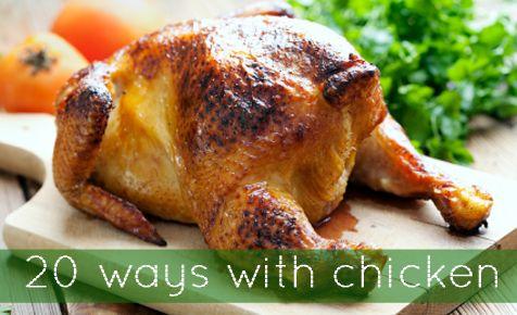 20 ways with chicken