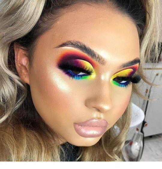 Colorful Carnival Makeup Colorful Carnival Makeup Miladies Net