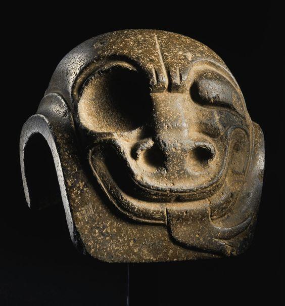 Carved Yugito (900-600 B.C.) Middle Preclassic, Olmec. Gulf coast, Veracruz, Mexico: