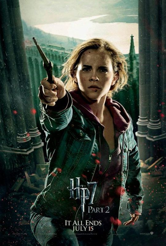 Harry Potter 8 Harry Potter Ve Olum Yadigarlari Bolum 2 The Deathly Hallows Part 2 Deathly Hallows Harry Potter Hermione Granger