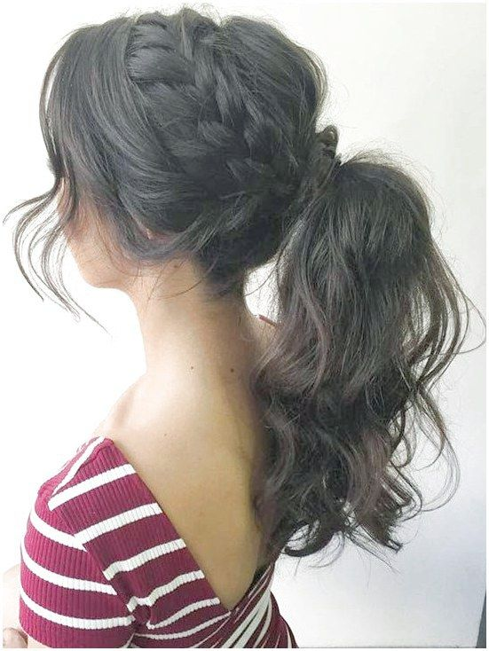 6 Easy Pretty Prom Hairstyles Prom Hairstyles For Long Hair Hairstyles For Thin Hair High Curly Ponytail