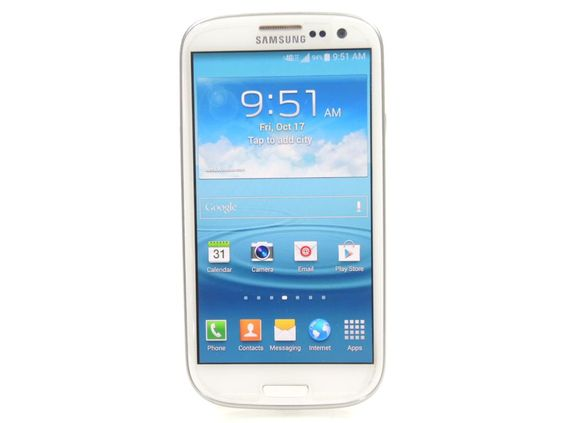 Smartphone With Accessories, Samsung Galaxy S3 16GB (Sprint)