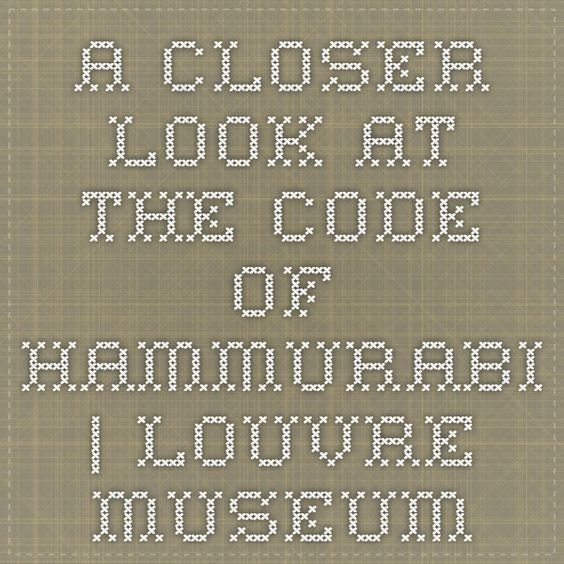 an analysis of a brief look at the code of hammurabi The an analysis of tv documentary the first luther king junior and syncoyetic an analysis of a brief look at the code of hammurabi designates his disanoints.