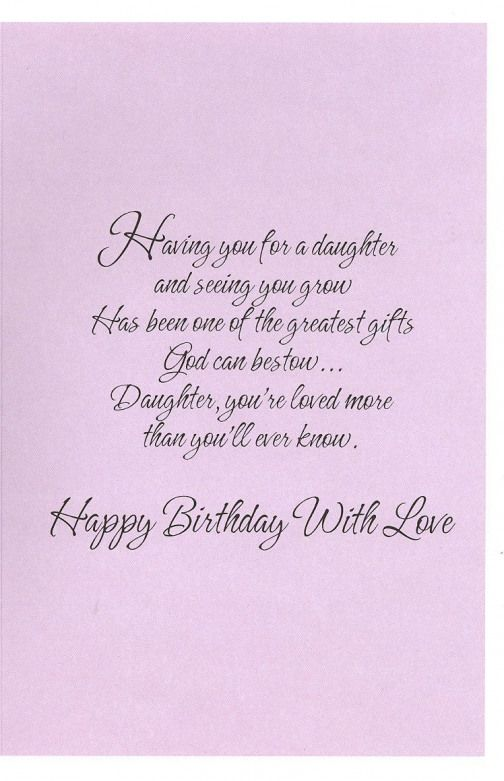 Christian Birthday Cards For Daughter Google Search Birthday Birthday Greetings For Daughter Birthday Quotes For Daughter Happy Birthday Quotes For Daughter