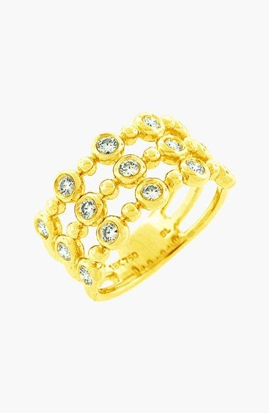 Bony Levy Diamond Three-Row Stack Ring (Nordstrom Exclusive) available at #Nordstrom