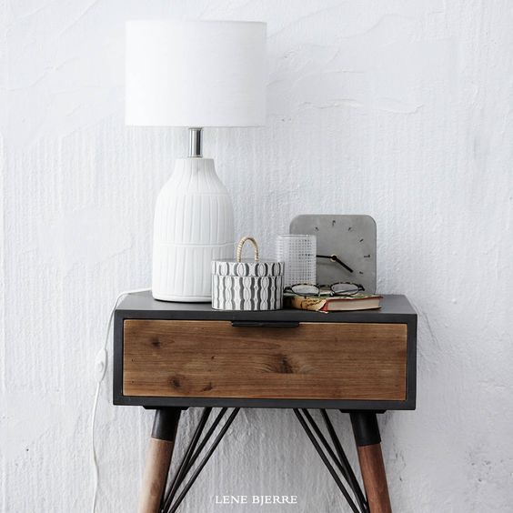 Lene Bjerre. Lynn side table perfect decor for your entry.