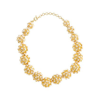 PEARL BALL CHOKER NECKLACE    $195.00