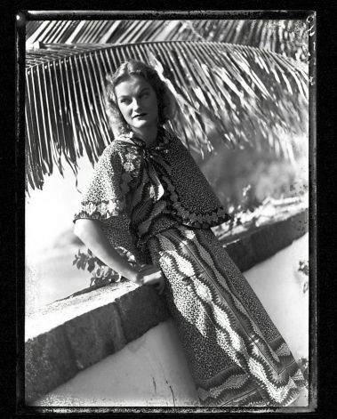 """Doris Duke's Shangri La in Hawaii-photo c.1940--Now, """"house museum"""" and reknowned Islamic art collection is open to public and mounts exhibitions."""