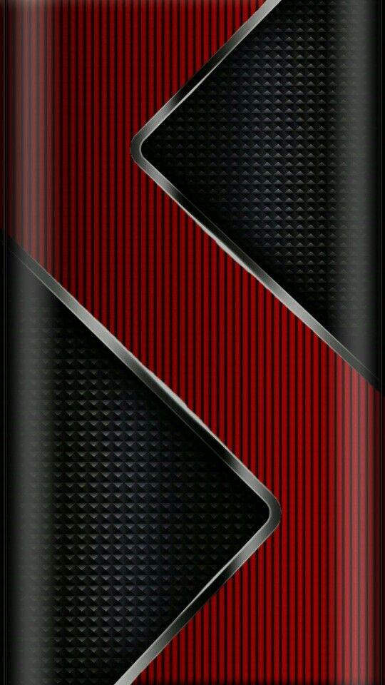 Red Zig Zag Metalic Wallpaper Samsung Galaxy Wallpaper Android Wallpaper Wallpaper Backgrounds