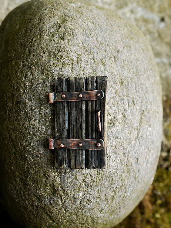 Handmade brooch A Door by SenoSoloma on Etsy, $35.00