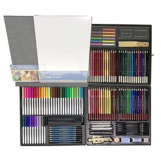 140 Pc Deluxe Drawing Set By Artist S Loft Lovers Art Artist