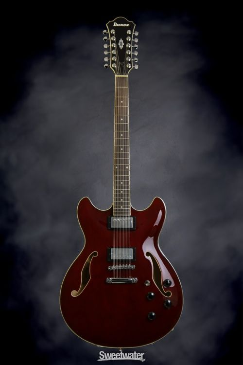 Ibanez Artcore AS7312 Semi Hollowbody 12str Transparent Cherry