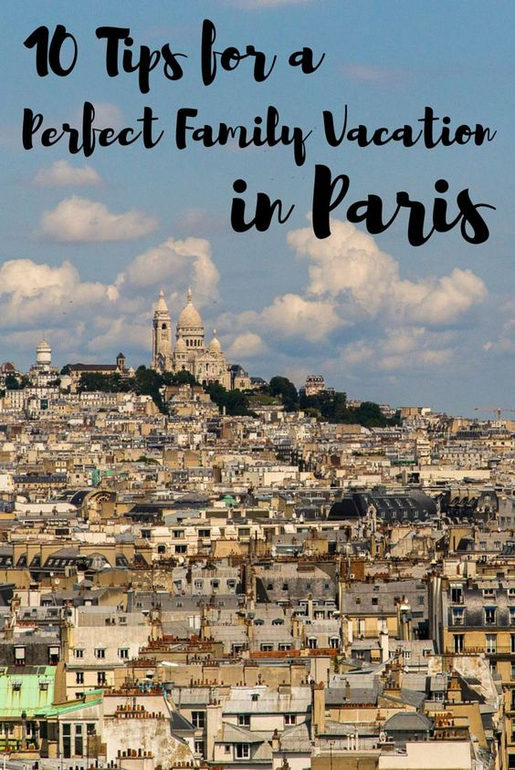 travel paris with kids family friendly